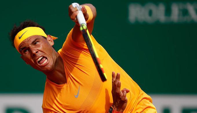 ATP Monte Carlo: Rafael Nadal pewnym krokiem w III rundzie. Porażki Fabio Fogniniego i Alberta Ramosa