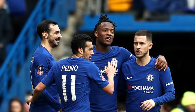 Getty Images / Catherine Ivill / Na zdjęciu: piłkarze Chelsea FC