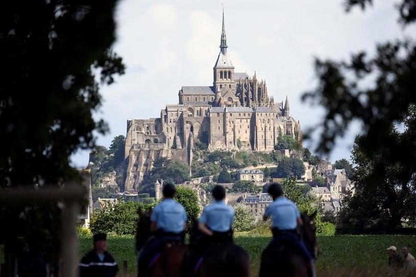 Francja: Ewakuacja w Mont-Saint-Michel
