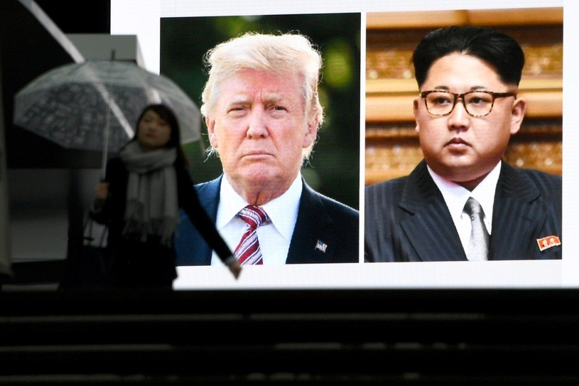 Może dojść do spotkania Donalda Trumpa i Kim Dzong Una/TOSHIFUMI KITAMURA /AFP