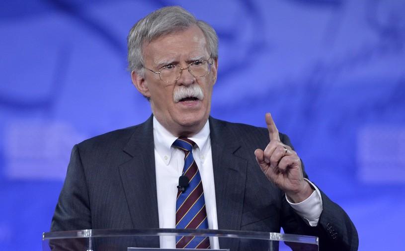 Nowy doradca prezydenta USA ds. bezpieczeństwa narodowego John Bolton/MIKE THEILER /AFP