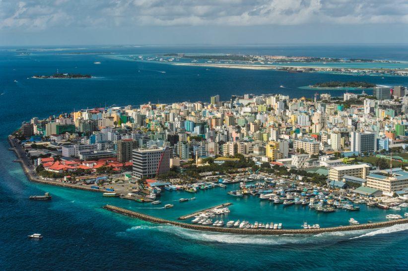 Male to najbardziej zaludnione miejsce Malediwów (Shutterstock.com)