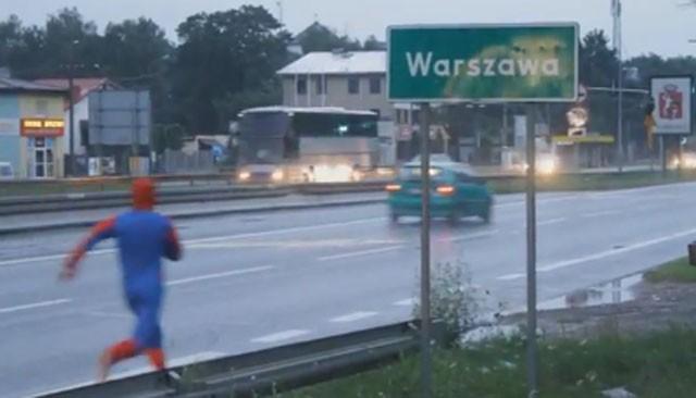 """Szalone wybryki """"Spidermana""""! W końcu się doigrał…"""