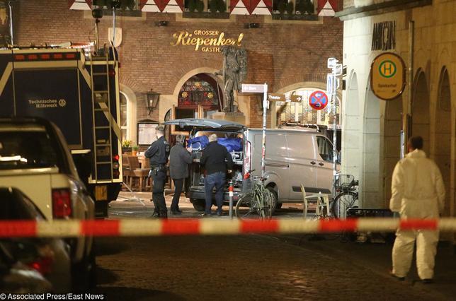 Tragedia w Muenster. Sprawca opisał historię nieudanego życia