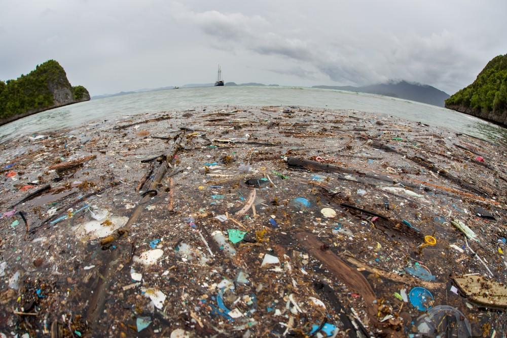 """Wyspa śmieci na Pacyfiku 5 razy większa od Polski. """"Niedługo w oceanach będzie pływać więcej plastiku niż ryb"""""""