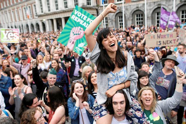 Irlandczycy są za legalizacją aborcji. Czy autorytet Kościoła coraz mniej znaczy w tym państwie?