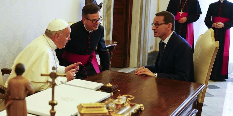 O czym rozmawiał premier Morawiecki z papieżem?
