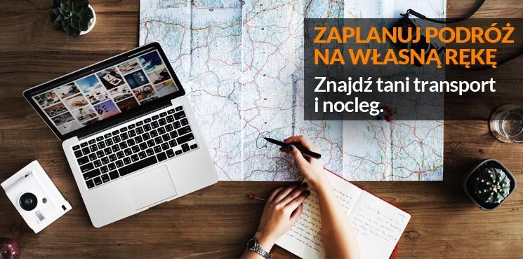 2.Zaplanuj podróż na własną rękę – znajdź tani transport i nocleg
